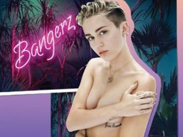 Bangerz: Miley Cyrus in topless sulla copertina della deluxe edition