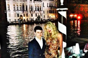 Valeria Marini a Venezia con… Daniel Radcliffe