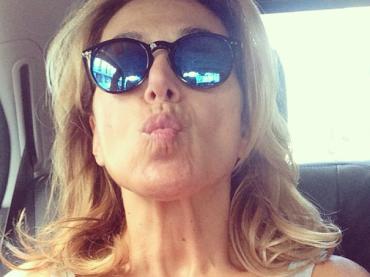 Barbara d'Urso e la bocca a culo di gallina da Instagram