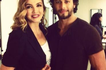 Jesus Luz con Milly Carlucci – ecco la foto verità