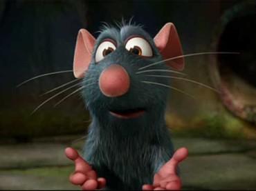 Jo Squillo trova Ratatouille al ristorante