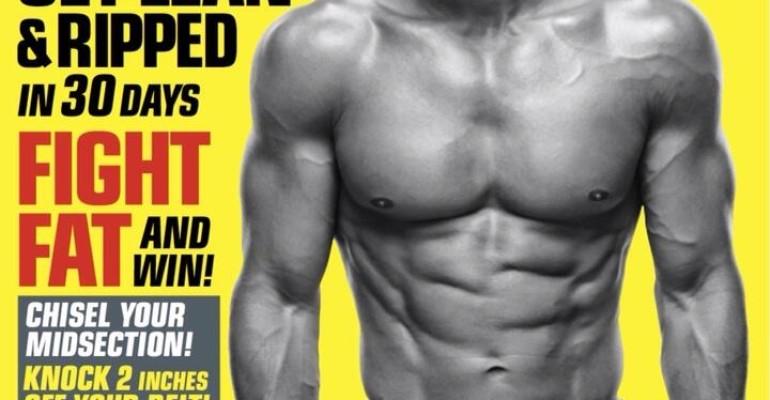 Mario Lopez mostra i muscoli sulla cover di FitnessRX