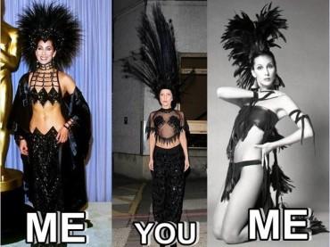 Lady Gaga come CHER (ma solo nel look)