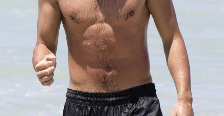 Liam Payne gnocco barbuto a Sidney – foto in costume