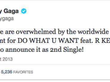 Lady Gaga a sorpresa: DO WHAT U WANT secondo singolo – è ufficiale (+ MashUp The Deep)