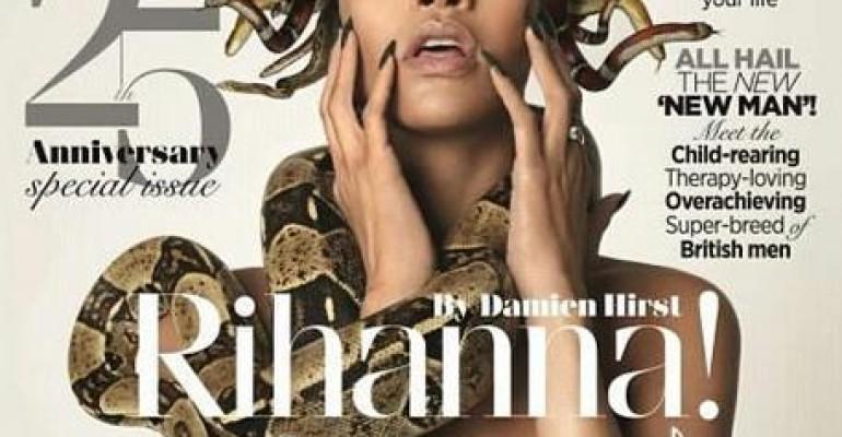 Rihanna è MEDUSA per GQ
