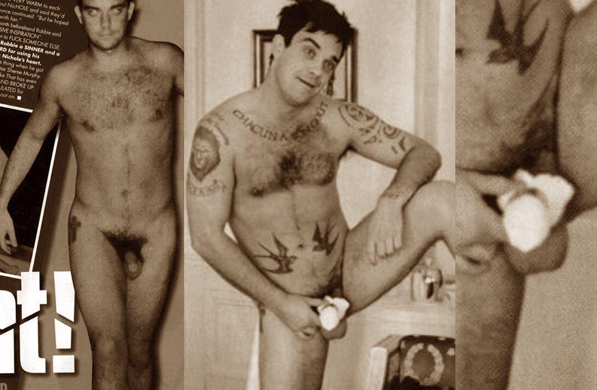 robbie williams nude