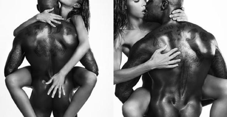 Tyson Beckford di nuovo nudo per OOB con la modella trans Ines Rau