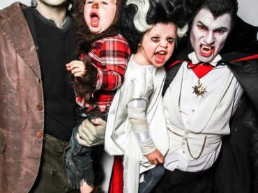 Halloween 2013 – Neil Patrick Harris 'monster' con figli e compagno