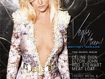 Britney Spears circense su Vegas Player Magazine