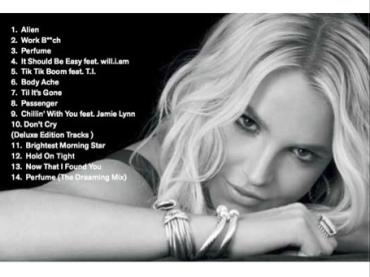 Britney Jean – ecco la tracklist del nuovo album della Spears