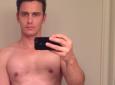 James Franco nudo