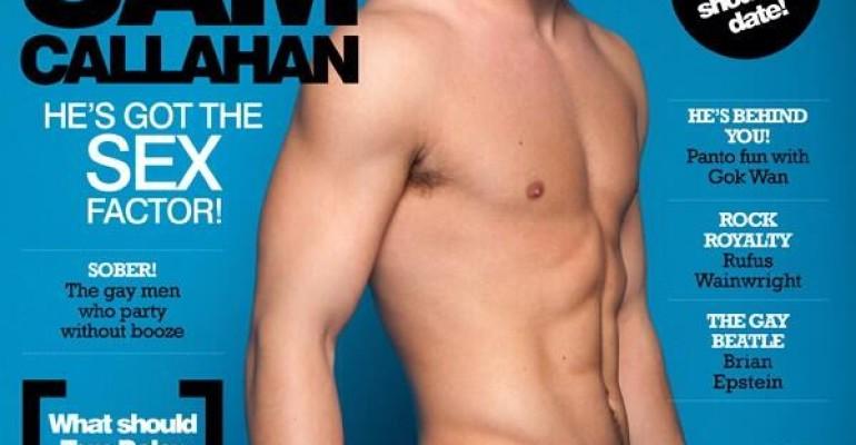 Gay Times spoglia Sam Callahan di X-Factor Uk