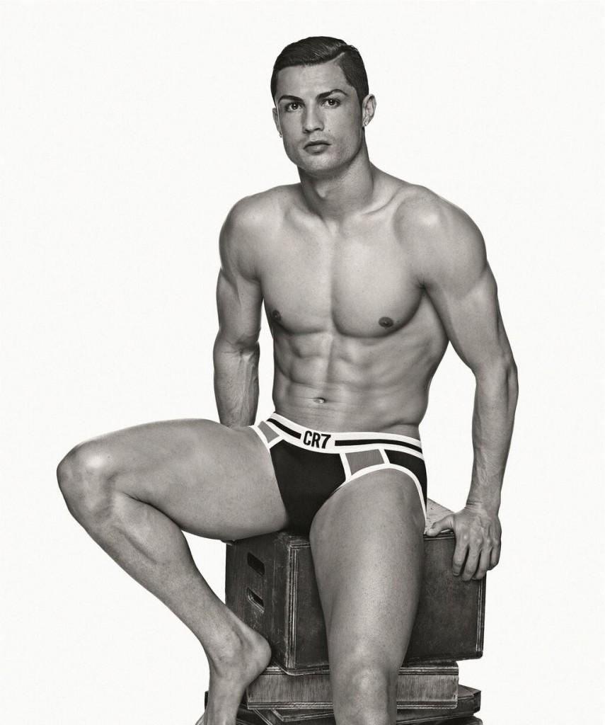 Cristiano Ronaldo pubblicità in mutande