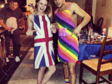 Natale 2013 – Tom Daley icona GAY tutta RAINBOW