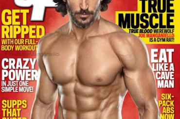 Joe Manganiello c'ha scritto in faccia SO' BONO per Muscle & Fitness