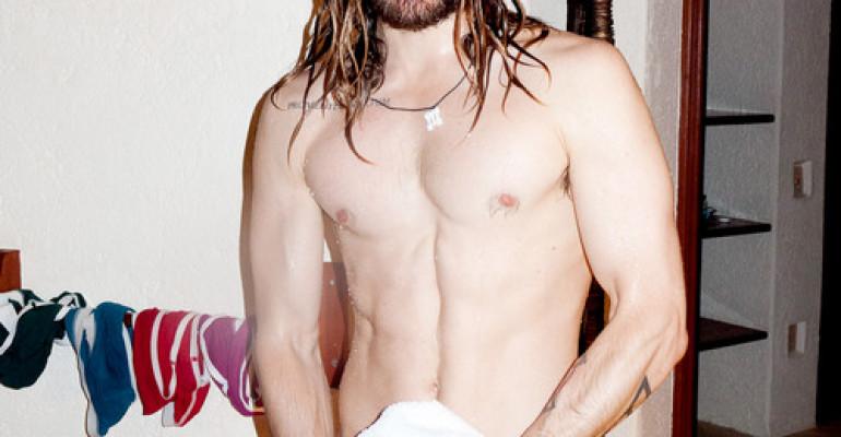 Jared Leto nudo e bagnato per Terry Richardson – foto