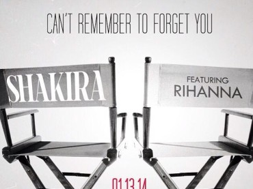 Shakira feat. Rihanna – Can't Remember to Forget You  arriva il 13 gennaio