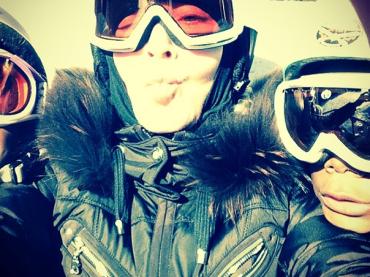 Madonna come Barbara d'Urso su Instagram: BASCIONI dalla neve