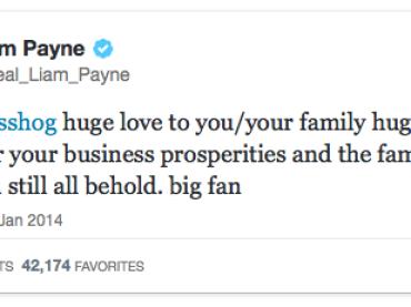 Liam Payne sostiene lo show omofobo Duck Dynasty