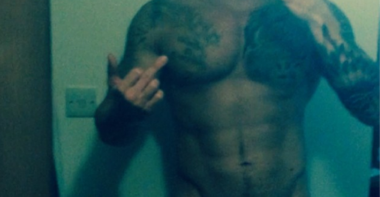 Duncan James ancora mezzo nudo su Instagram