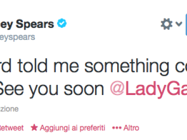 Lady Gaga feat. Britney Spears – mistero Twitter, arriva il duetto?
