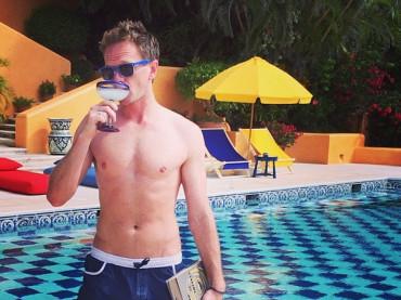 Neil Patrick Harris  in costume (e Margarita) su Instagram