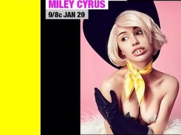 Miley Cyrus: MTV Unplugged il 29 gennaio