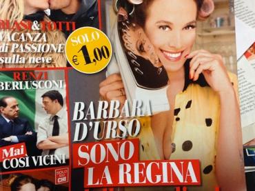 Barbara d'Urso ne è convinta: condurrò il Festival di Sanremo
