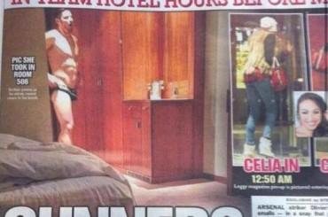 Bufera Olivier Giroud: beccato in mutande dopo una notte di sesso con l'amante