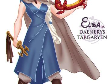 Se le Principesse Disney vivessero in Game of Thrones …