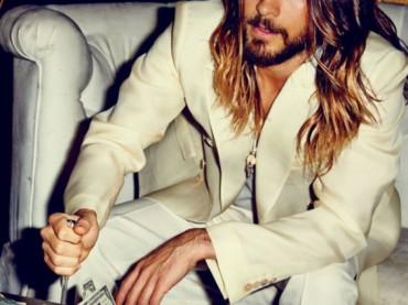 Jared Leto schifosamente bono su Flaunt Magazine