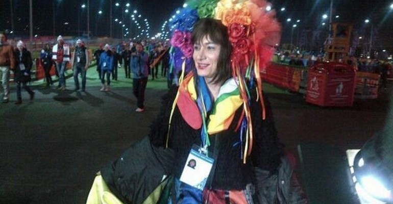 Sochi 2014 – Vladimir Luxuria parla del fermo a Verissimo: 'ho avuto paura'