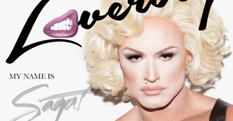 Francois Sagat diventa Madonna sulla copertina di Loverboy