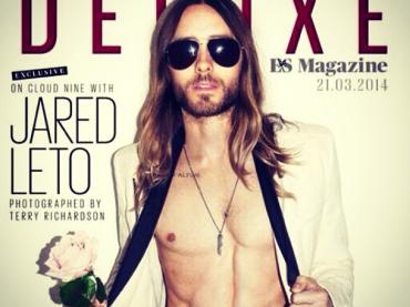 Jared Leto gnocco sulla cover di Evening Standard Deluxe