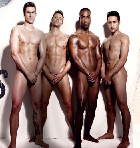 blue boyband nude