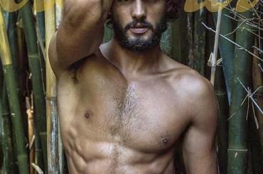 Marlon Teixeira barbuto e naufrago per Donna Magazine – foto e video