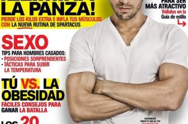 Enrique Iglesias PE' GNENTE photoshoppato sulla cover di Men's Health