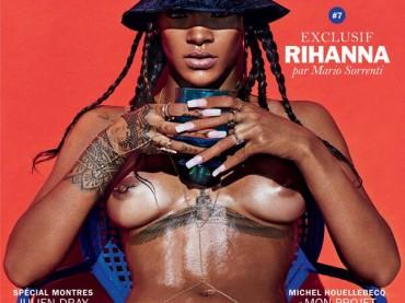 "Rihanna ""elegantissima"" per Lui Magazine (elegantissima=nuda e porca)"
