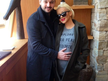 Christina Aguilera incinta su Instagram