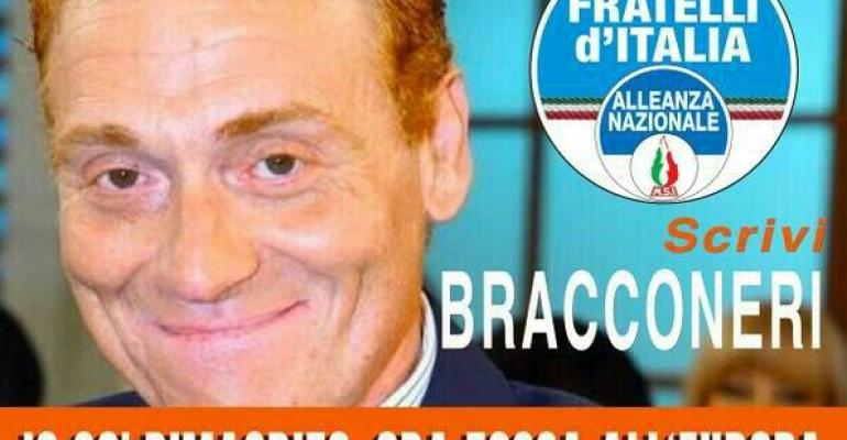 Dalla 3ª C alle Europee 2014 – Fabrizio Bracconeri si candida con Fratelli d'Italia