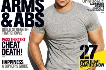 Aaron Taylor-Johnson gnocco sulle cover di Nylon Guys e Men's Health