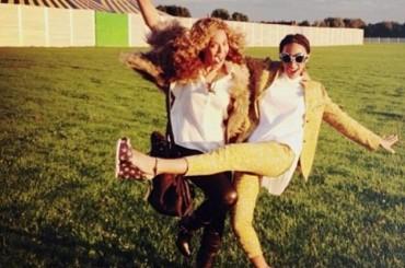 Beyonce pubblica su Instagram foto a manetta con Solange