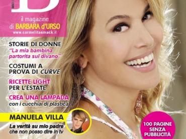 B Magazine di Barbara d'Urso – copertina più editoriale