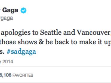 Ursula ruba la voce a Lady Gaga – bronchite per la Germanotta