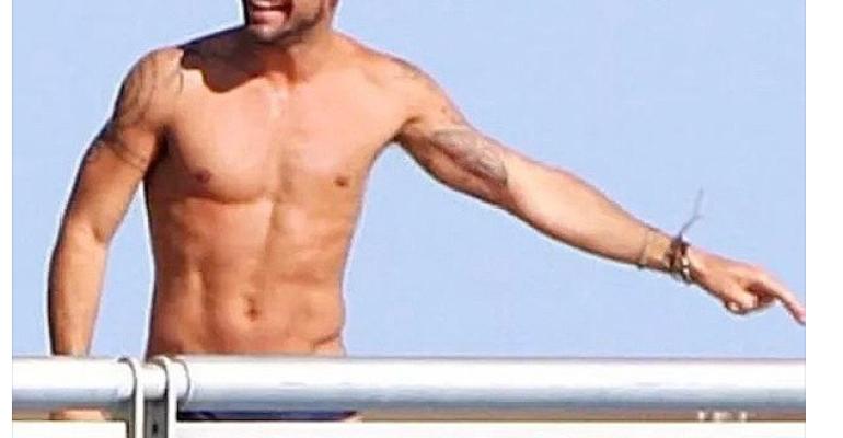 Ricky Martin in costume su Instagram