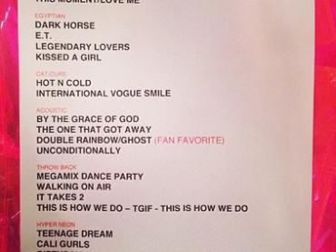 The Prismatic World Tour – ecco la set list di Katy Perry (+ tutti i costumi)