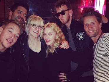 Madonna brinda su Instagram: finita la collaborazione con DIPLO