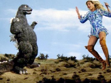 Beyonce come GODZILLA – il fake trailer