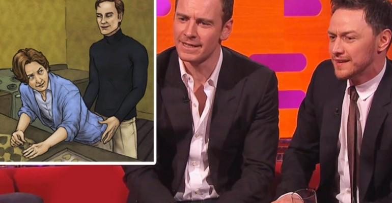 Michael Fassbender e James McAvoy mutanti gay da Graham Norton – video